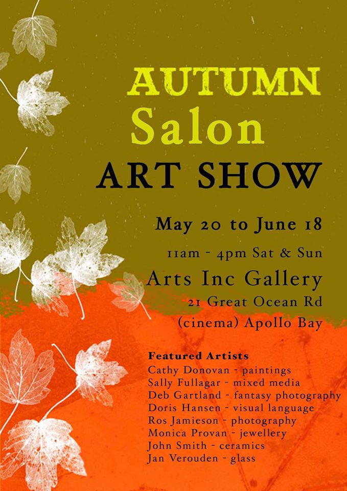 Autumn Salon Art Show Apollo Bay Arts Inc Gallery