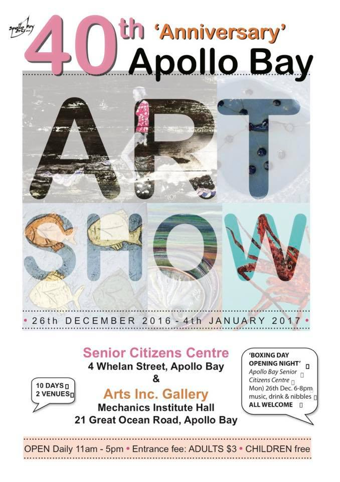 40th Anniversary Apollo Bay Art Show