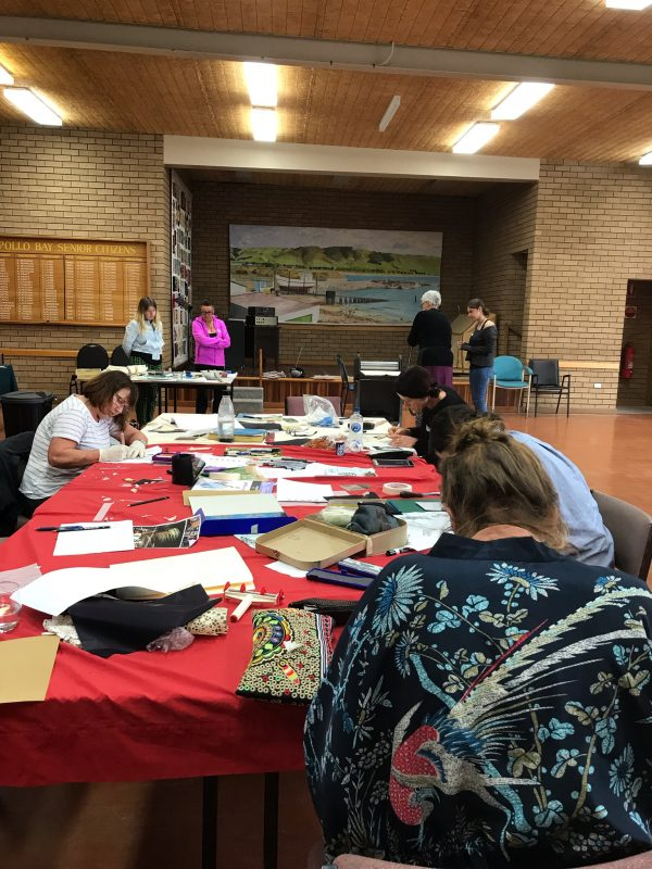 Printmaking in Apollo Bay with Cathy Donovan Artist