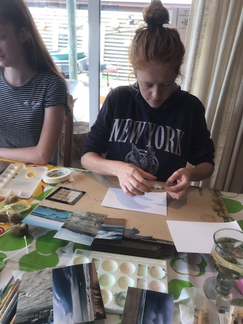 Watercolour Workshop held in Apollo Bay with Cathy Donovan