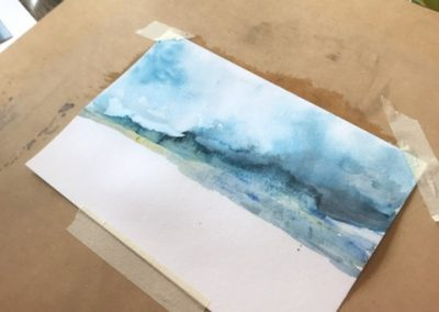 Watercolour Workshops and Classes in Apollo Bay with Cathy Donovan Watercolour Artist