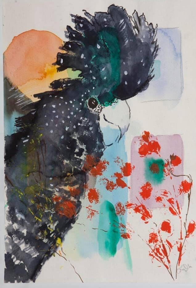 Contemporary Watercolour Workshops in Apollo Bay with Cathy Donovan Watercolour Artist